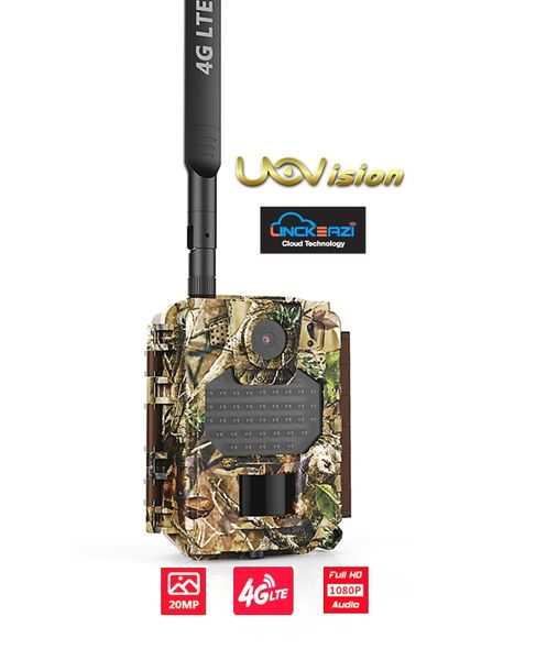 Uovision Compact 4G LTE Cloud 20MP Full HD