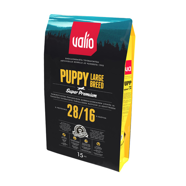 Valio Puppy large breed 15 kg